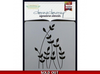 "Sprout - Donna Downey - Signature Stencils 8.5""X8.5"""