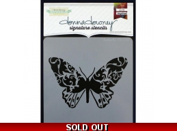Butterfly - Donna Downey - Signature Stencils 8.5