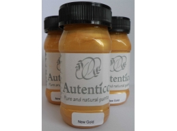 Autentico New Gold Metallic Chalk Paint 100ml