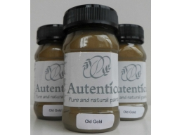 Autentico Old Gold Metallic Chalk Paint 100ml