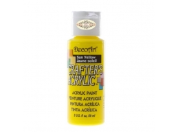 Crafters Acrylic - Sun Yellow DCA113