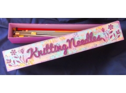 Knitting Needle Box