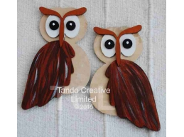 Pair of layered Owls