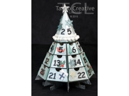 Octagonal Christmas Advent Calendar