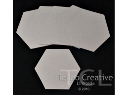 Chipboard Mini Book - Hexagonal