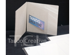 Chipboard/laminate book - Square