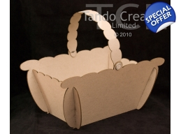 3D Basket with Handle