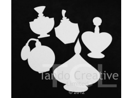 Perfume Bottles set of 5