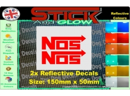 Reflective NOZ Stickers | Stick and Glow Reflective Decals