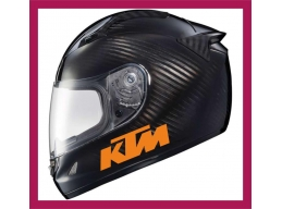 Reflective KTM Logo Sticker | Stick and Glow Reflective Decals