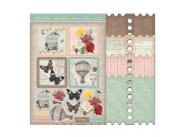 Antique Chic - Pretty Gatefold Stamp Cards