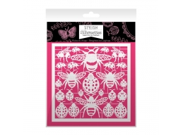 Stylish Silhouettes - Wishes on Wings - Honeybees & Ladybugs