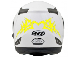 Reflective Tribal Design 115 Decal | Stick and Glow Reflective Decals