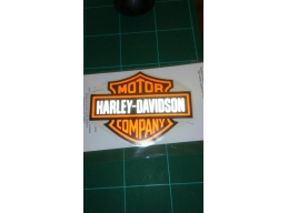 1x Harley Reflective Logo Sticker | Stick and Glow Reflective Decals