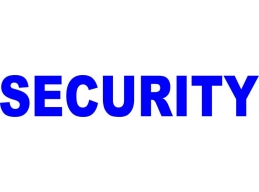 3x Reflective Security Vehicle Sign / Decals | Stick and Glow Reflective Decals