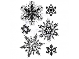 Art Stamps - Snowflakes