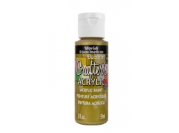 Crafters Acrylic - Yellow Gold