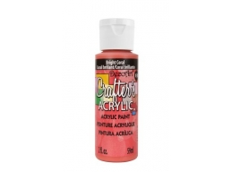 Crafters Acrylic - Bright Coral
