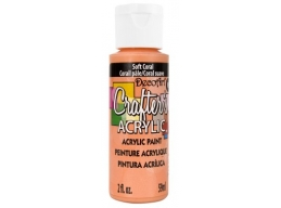 Crafters Acrylic - Soft Coral