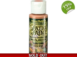 Terra Cotta | Patio Paint 2oz