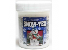 DecoArt Snow -Tex 2oz 59ml Textured Snow Effect