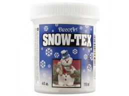 DecoArt Snow -Tex 4oz 118ml Textured Snow Effect