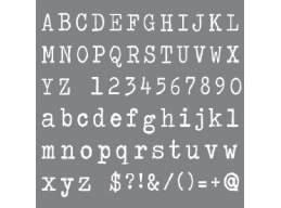 Andy Skinner - Typeface 8x8