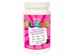 Decou-Page Crystal Glitter - Wide Pot - 8 oz