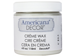 Americana Decor Creme Waxes - Clear - 4 oz
