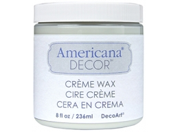 Americana Decor Creme Waxes - Clear - 8 oz