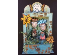 Paperartsy Chippie: Large Niche A5 with Drawer
