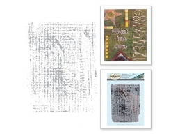 Seth Apter - Tattered Screen - Stamp