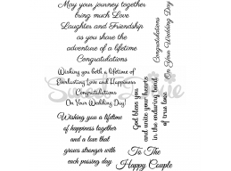 Wedding Collection - May Your Journey Together Clear Stamp