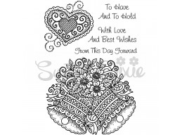 Wedding Collection - Wedding Bells With Love Clear Stamp