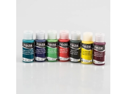 DecoArt Media Line Mixed Pack of 7 - Brights