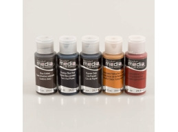 DecoArt 5 x 1oz Grunge Media Paint Kit 2