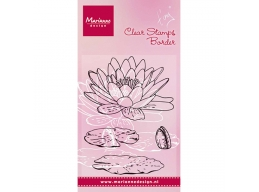 Tinys Waterlily Clear Stamp * NEW *
