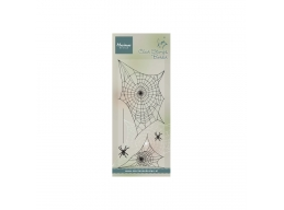 Tinys Border: Spider Web Clear Stamps