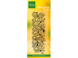 Clear Stamp Tinys Border - Sunflowers