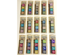 Ranger Tim Holtz Distress Mini Ink Pad Kits - 1-15, Super Bundle of all 60 Colours