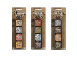 Ranger Tim Holtz Distress Mini Ink Pad Kits 7, 8 and 9 Bundle