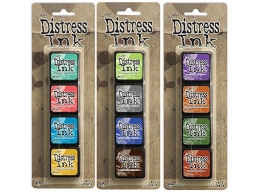 Ranger Tim Holtz Distress Mini Ink Pad Kits 13, 14 and 15 Bundle