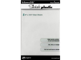 Ranger Ink - Shrink Plastic Shts -8x10.5- 5 sheets