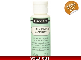 DecoArt Chalk Finish Medium 2oz | Art of Stourbridge