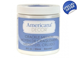 DecoArt Clear Crackle Medium 8oz | Art of Stourb..