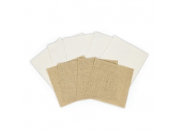 Platinum Pack 1 - 6 in x 6 in Burlap &