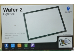 DayLight WAFER 2, A3 LIGHTBOX, 44x32cm, EXTRA THIN 0.8cm, DIMMABLE, LIGHTWEIGHT