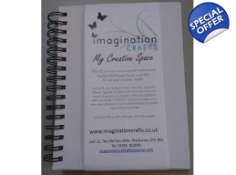Imagination Crafts 2 x Planner/Journals with Can..