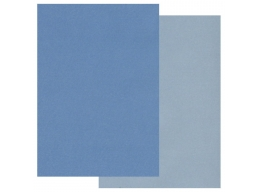 Groovi Two Tone A5 Coloured Parchment Paper - Blue 20 Sheets