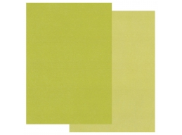 Groovi Two Tone A5 Coloured Parchment Paper - Green 20 Sheets